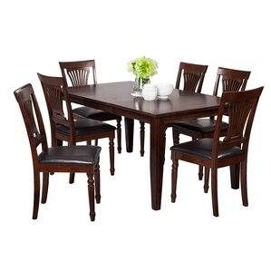 Haan Traditional 7 Piece Dining Set by Red Barrel Studio