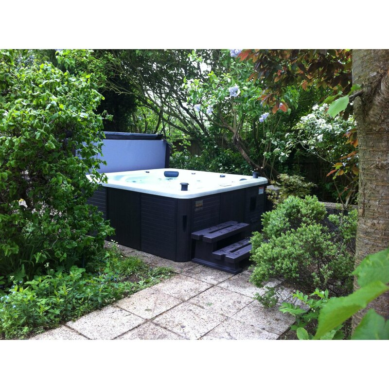 Canadian Spa Co Toronto 6-Person 44-Jet Spa with Waterfall & Reviews ...
