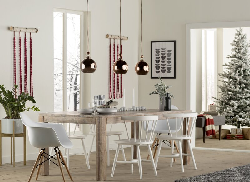 Genial Montauk Solid Wood Dining Table