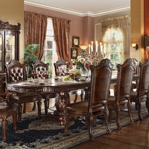 Welles Carved Extendable Dining Table by ..