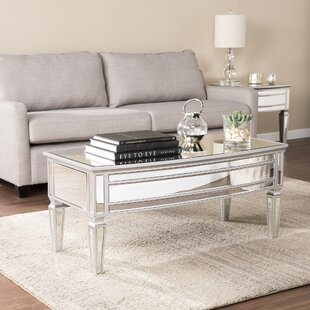 Mirror Coffee Table Sets Youll Love Wayfair - Wayfair mirrored coffee table