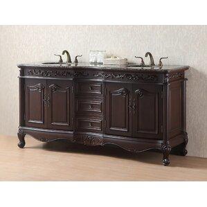 vanity double sink 72. Bourne 72  Double Bathroom Vanity Set Inch Vanities You ll Love Wayfair