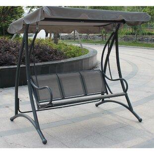 Garden 3 Seater Swing Hammock Wayfair Co Uk