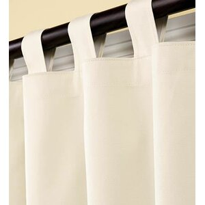 Thermalogicu0099 Energy Efficient Insulated Solid Semi-Sheer Thermal Tap Top Curtain Panel (Set of 2)