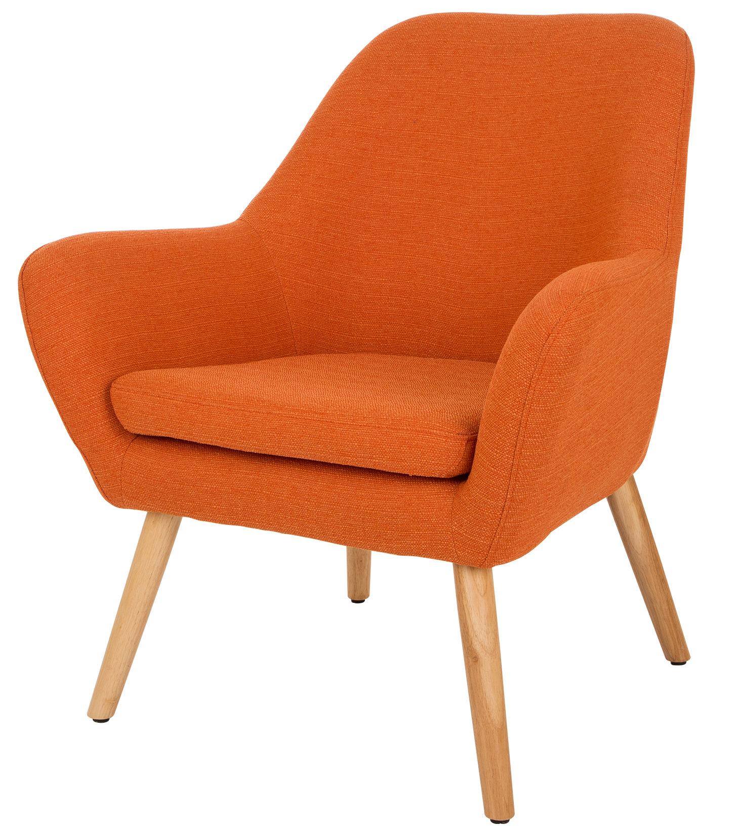 Corrigan Studio Volmer Mid Century Modern Barrel Chair U0026 Reviews | Wayfair