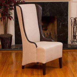 High Back Tufted Accent Chair   Wayfair