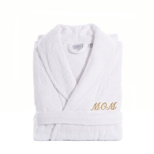 Terry Cloth Bathrobe for Mom