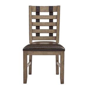 Fort Oglethorpe Brown Side Chair by Laure..