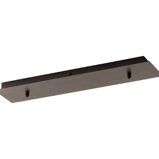 Tech Lighting Fusion Jack Seven Port Wood Rectangle Led