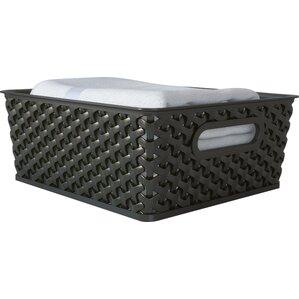 wayfair basics storage basket