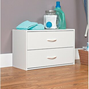 Stackers 2 Drawer Chest By Closetmaid