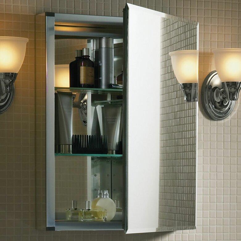 Kohler 20 Quot X 26 Quot Aluminum Medicine Cabinet With Mirrored