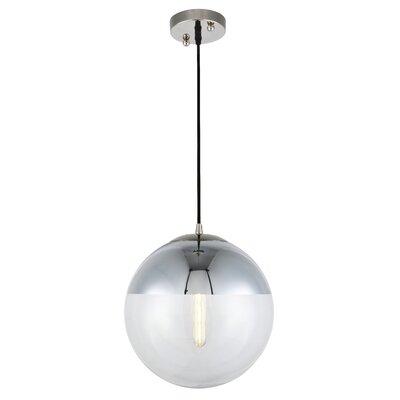 Brayden Studio Simeone 1-Light Pendant Size: 60 H x 12 W x 12 D