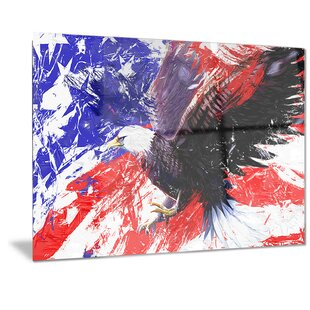3731678b6c7c Metal  American Bald Eagle  Graphic Art
