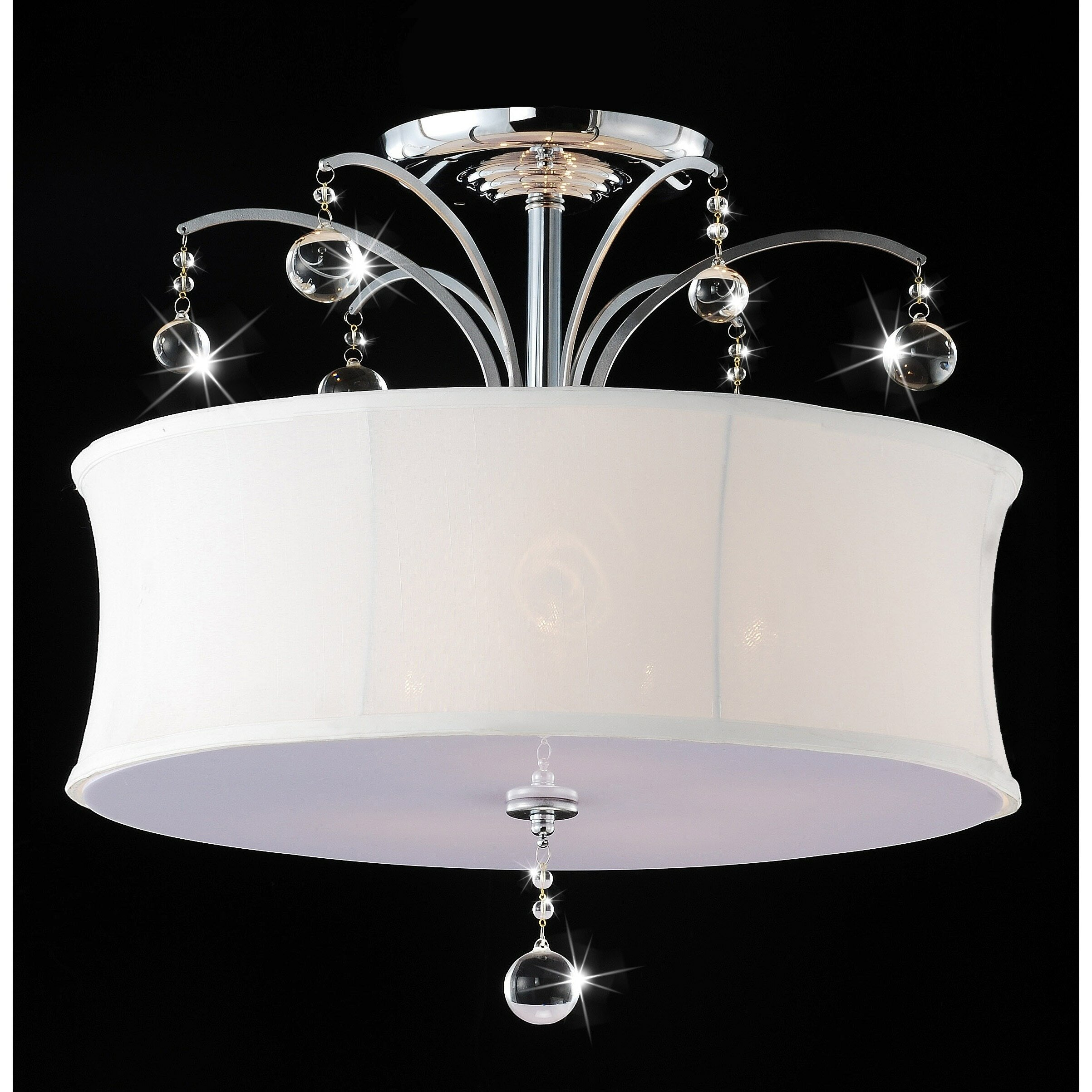 House of hampton mclawhorn 5 light semi flush mount reviews wayfair