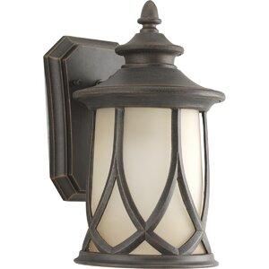 Triplehorn 1-Light Outdoor 100W Wall Lantern