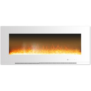 Abou Wall Mount Electric Fireplace by Orren ..