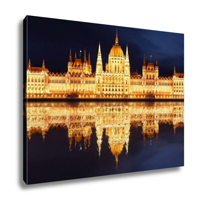 Winston Porter 'Budapest Hungarian Parliament At Night