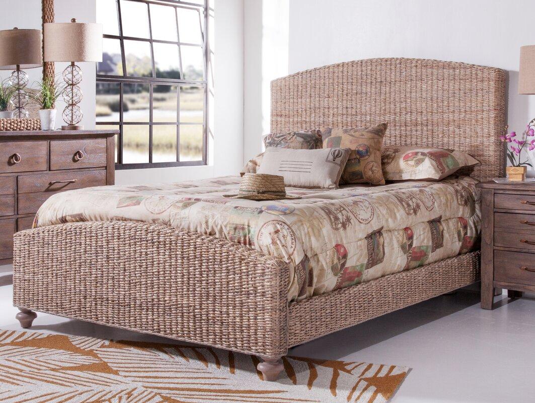 Panama Jack Driftwood Woven Panel Bed & Reviews | Wayfair