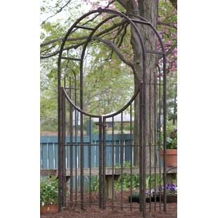 Arched Top Garden Gate Arch