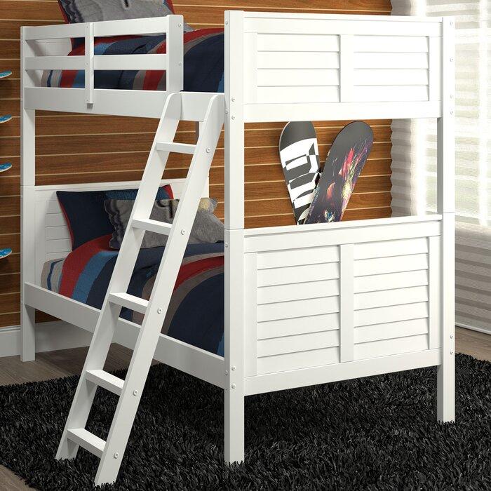 Chelsea Home Furniture Twin Over Twin Bunk Bed Wayfair Ca