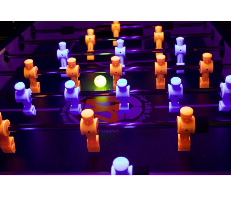Warrior Table Soccer Professional Black Light Foosball Table Wayfair - Foosball table light