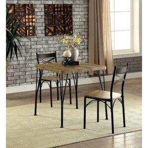 Clarkstown 3 Piece Dining Set by Zipcode Design