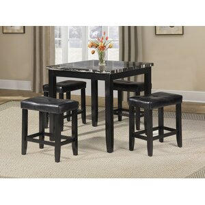 Blythe 5 Piece Counter Height Dining Set