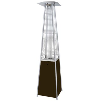 Sol 72 Outdoor Barnwell Tall 40,000 BTU Propane Patio Heater Finish: Hammered Bronze