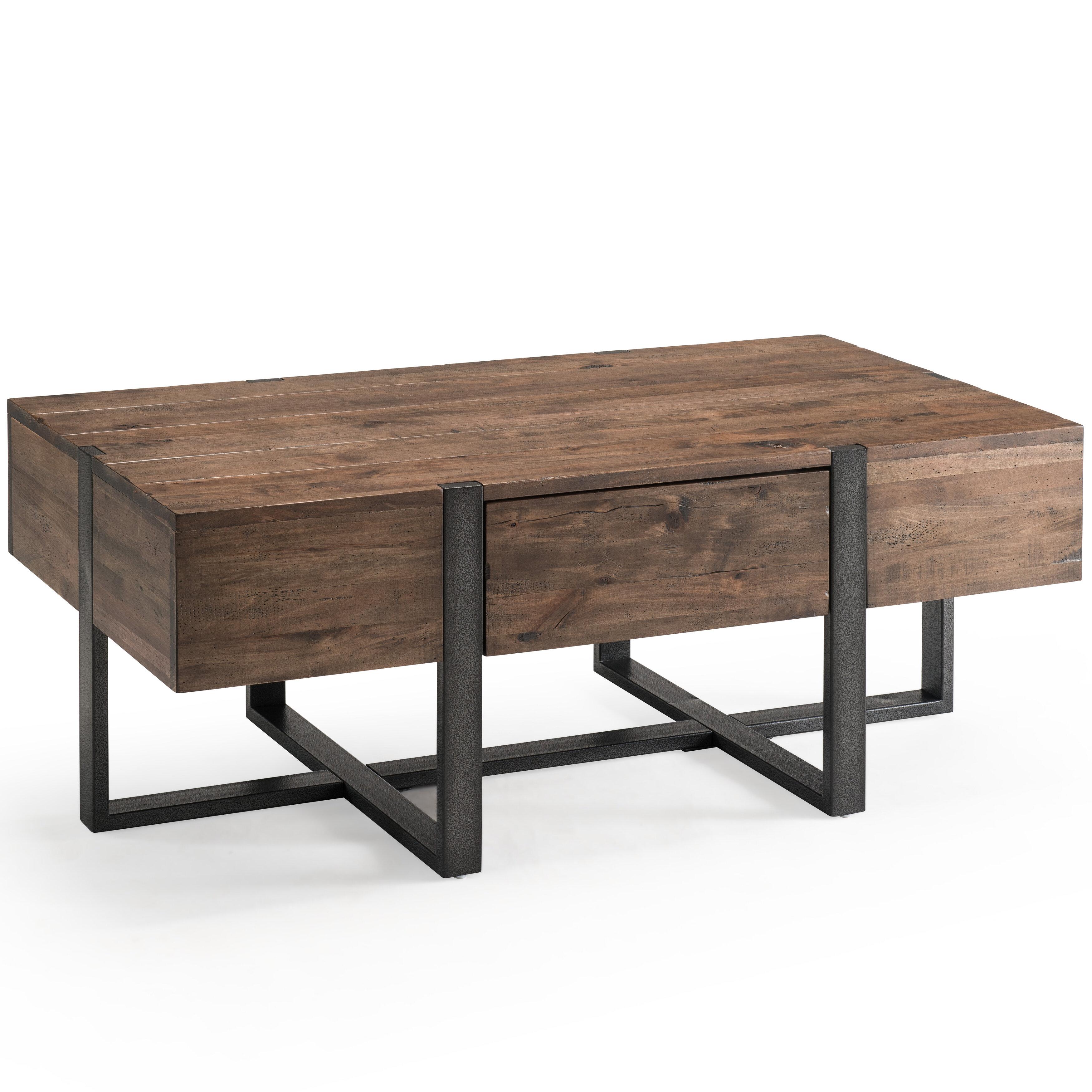 Rustic Coffee Table.Langdon Modern Coffee Table