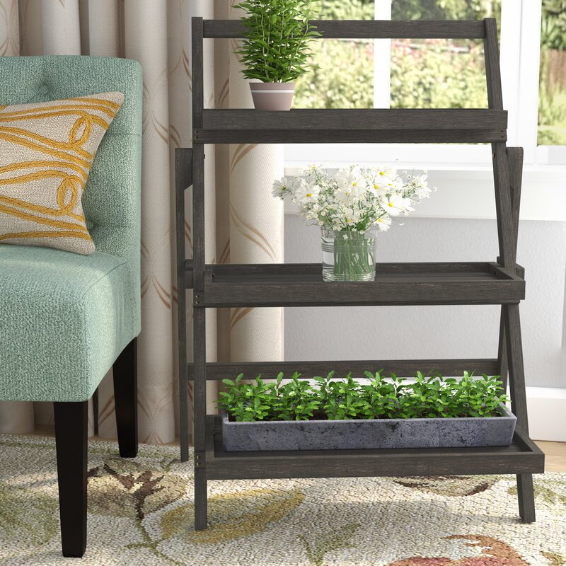 Charlton Home Fenimore Indoor Multi Tiered Plant Stand Reviews Wayfair