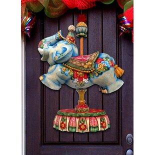 c0c3c57466 Carousel Elephant Door Hanger