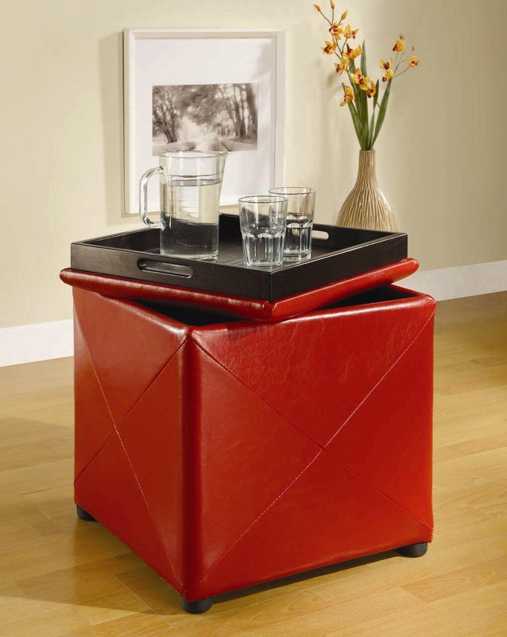 Exceptional Red Barrel Studio West Seattle Storage Ottoman U0026 Reviews | Wayfair
