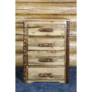 Glacier Country 4 Drawer Chest by Montana Woodworks?