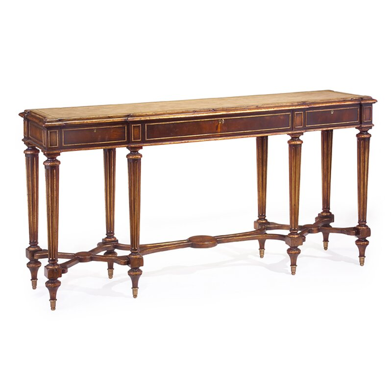 Charmant Marble Top Console Table