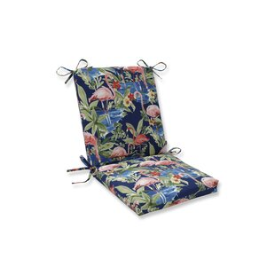 Flamingoing Lagoon Outdoor Rocking Chair Cushion