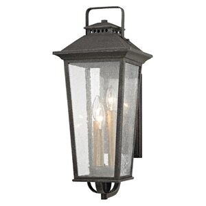 Janell 3-Light Outdoor Wall Lantern
