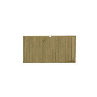 Jailyn Tongue and Groove Fence Panel (Set of 3) by Lynton Garden