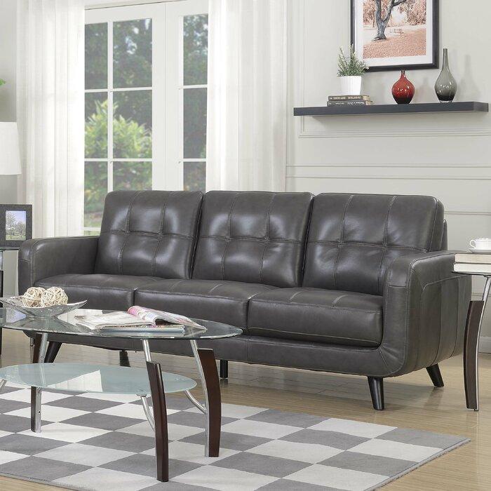 Brilliant Pinehurst Genuine Leather Sofa Interior Design Ideas Clesiryabchikinfo