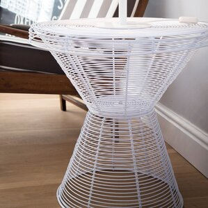 Wire End Table by NestedNY