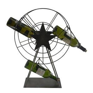 Ferris Wheel 1 Bottle Tabletop Wine Rack by Three Star Im/Ex Inc.