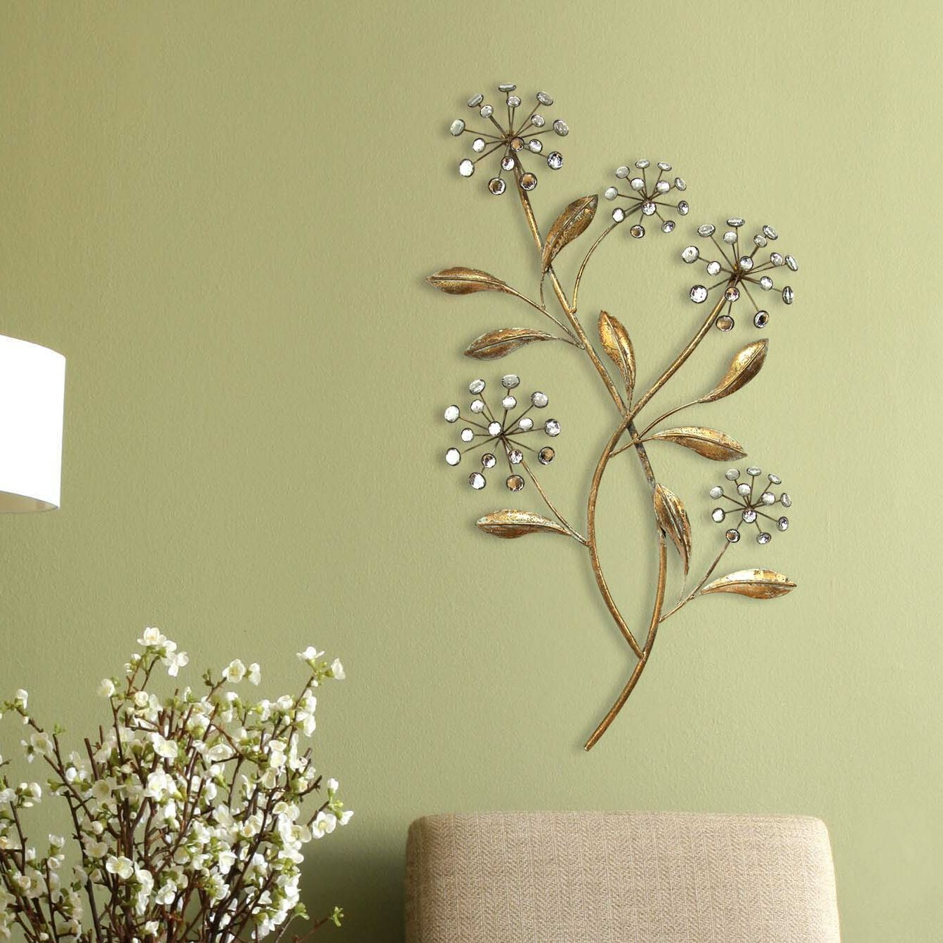 Generous Wall Decor Floral Ideas - The Wall Art Decorations ...