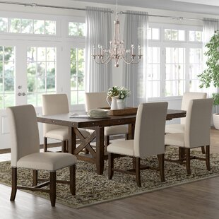 Melstone 7 Piece Extendable Dining Set