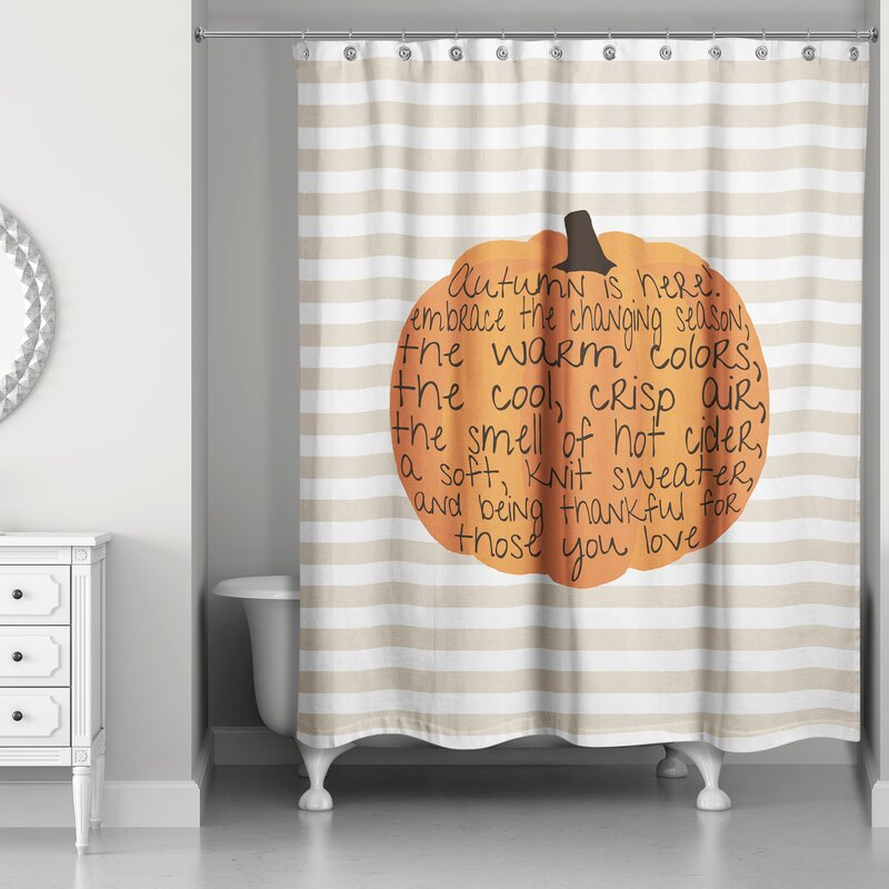 Embrace Autumn Shower Curtain