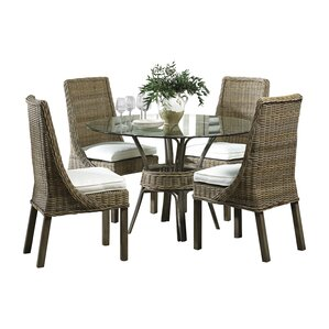 Exuma 5 Piece Dining Set by Panama Jack Sunroom