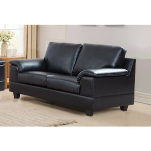 Latitude Run Driggers Loveseat with Velvety Arm Rest Image