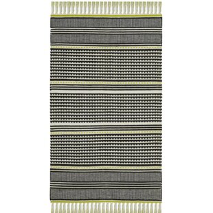 Look for Granada Hand-Woven Lime/Gray Area Rug ByWrought Studio