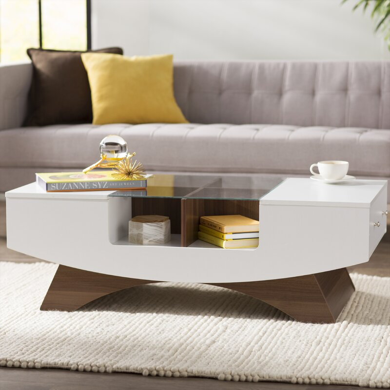 Madilynn Coffee Table with Storage