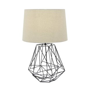Modern contemporary metal wire table lamp allmodern metal wire 25 table lamp greentooth Image collections