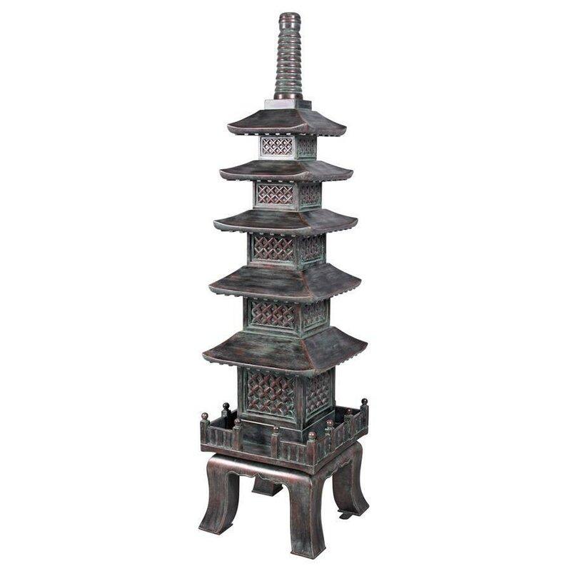 Nara Temple The Asian Pagoda Garden Art